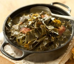 Collard Greens & House Cured Bacon